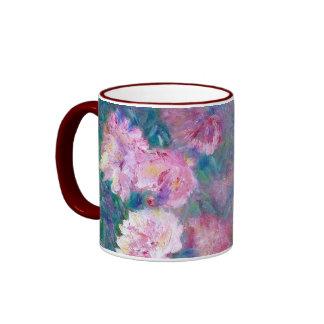 """""""Peony"""" Impressionist Floral Mug"""