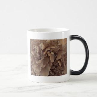 Peony in Sepia Magic Mug
