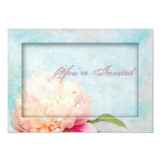 Peony Invitation - Multi-Purpose