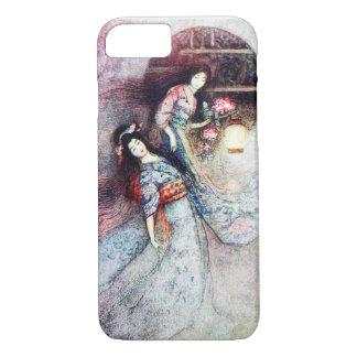 Peony Lantern iPhone 7 Case