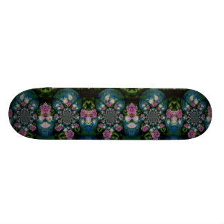 Peony Mandala 20 Cm Skateboard Deck