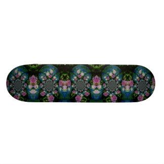 Peony Mandala Skateboard