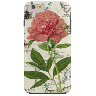 Peony Map Tough iPhone 6 Plus Case
