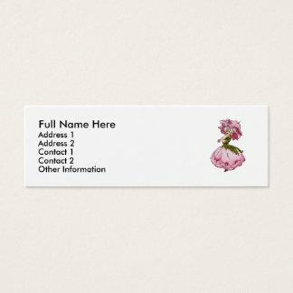 Peony Mini Business Card