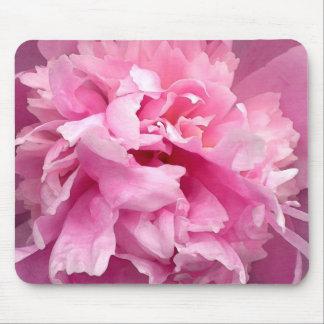 Peony, Pink mousepad