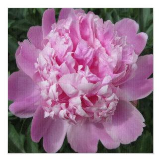 Peony Pink Shade 13 Cm X 13 Cm Square Invitation Card