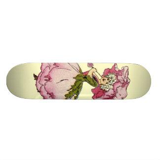 Peony Custom Skate Board