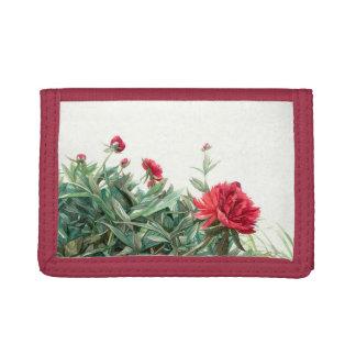Peony Tri-fold Wallet