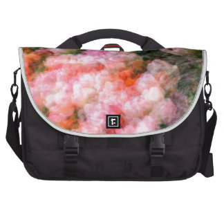Peony Tulips in Full Bloom Laptop Commuter Bag