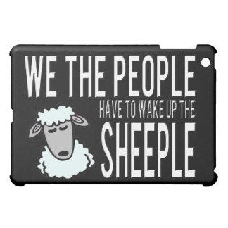 People and Sheeple - Political Humour iPad Mini Case
