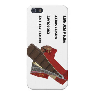 people are like chocolate case for iPhone 5/5S