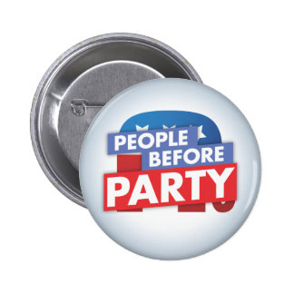 People Before Party - Republican Button