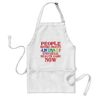 People Before Profits Health Care Design Standard Apron