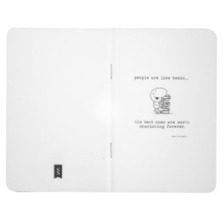 People & Books Pocket Journal