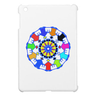 People circle pattern case for the iPad mini