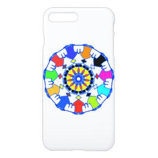 People circle pattern iPhone 8 plus/7 plus case