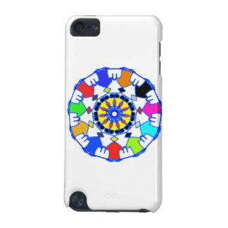 People circle pattern iPod touch (5th generation) cases
