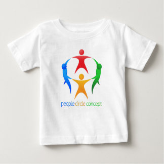 People Circle Team Concept Baby T-Shirt