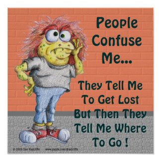 People Confuse Me... Poster