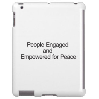People Engaged and Empowered for Peace