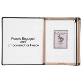People Engaged and Empowered for Peace Cases For iPad