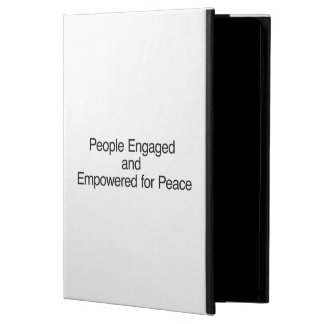 People Engaged and Empowered for Peace iPad Air Cases