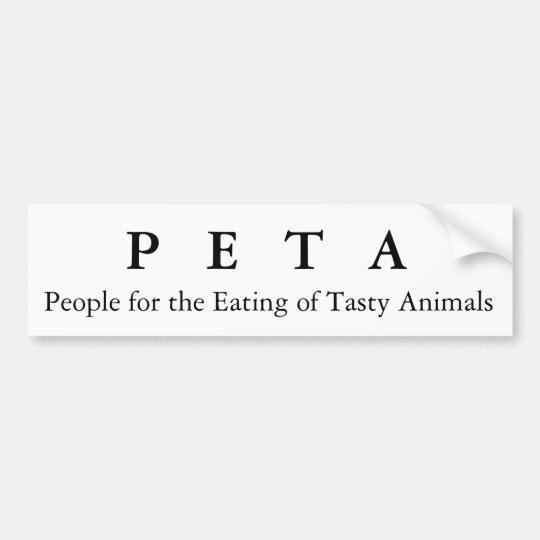 People for the Eating of Tasty Animals, P