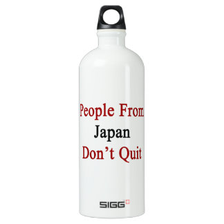 People From Japan Don't Quit SIGG Traveller 1.0L Water Bottle