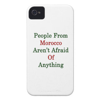 People From Morocco Aren't Afraid Of Anything iPhone 4 Case-Mate Cases