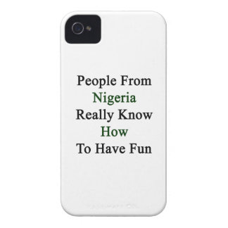 People From Nigeria Really Know How To Have Fun iPhone 4 Covers
