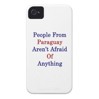People From Paraguay Aren't Afraid Of Anything iPhone 4 Cover