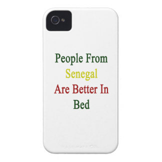 People From Senegal Are Better In Bed Case-Mate iPhone 4 Cases