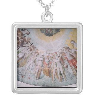 People from the Court of the Medici Silver Plated Necklace