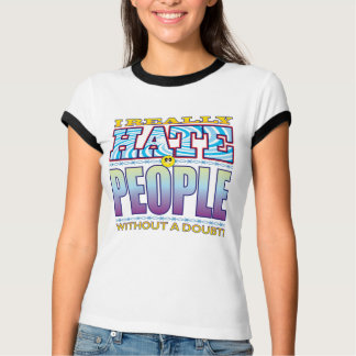 People Hate Face T-Shirt