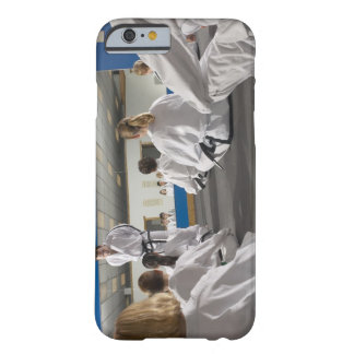 People in a tae kwon do class barely there iPhone 6 case