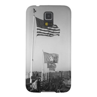 People in Bleachers Galaxy S5 Case