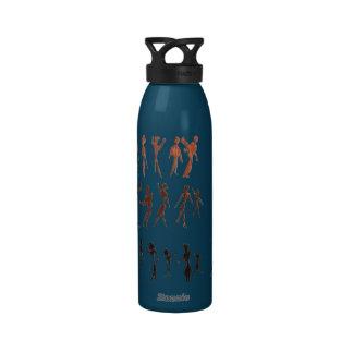 People in Motion Water Bottles