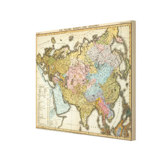 People of Asia and Europe Canvas Print