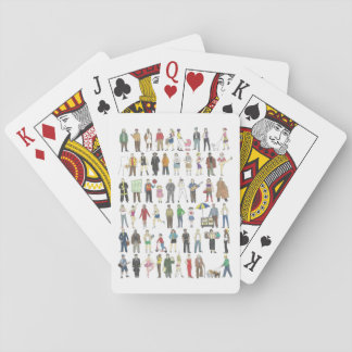 People of NYC New York City Playing Cards