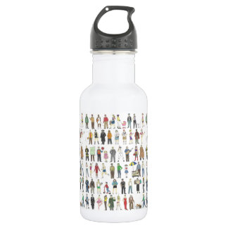 People of NYC New Yorkers City Pride Water Bottle 532 Ml Water Bottle