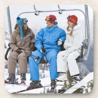 People on Ski Lift, Whistler-Blackcomb, British Coaster