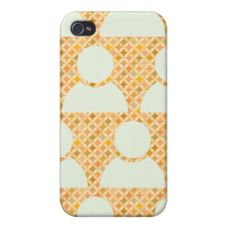 people pattern 2 iPhone 4/4S case