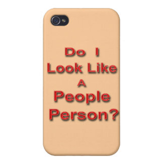 People Person 2 iPhone 4/4S Cover