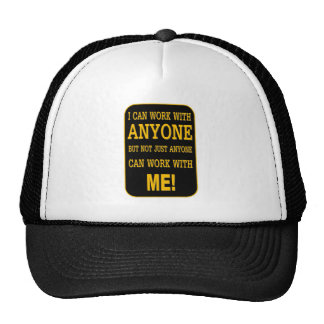 PEOPLE PERSON MESH HAT