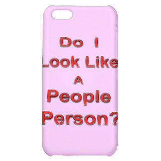 People Person iPhone 5C Cover