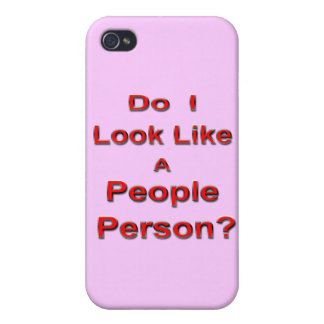 People Person iPhone 4 Case