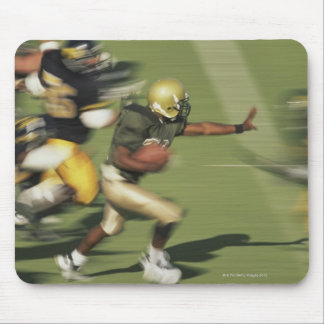 People playing football mouse pad