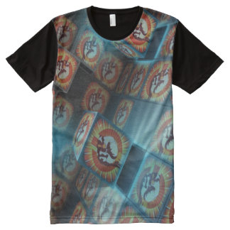 People Power All-Over Print T-Shirt