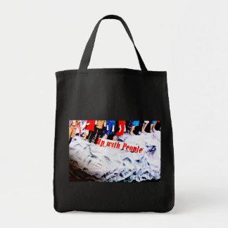 People Power Grocery Tote Bag