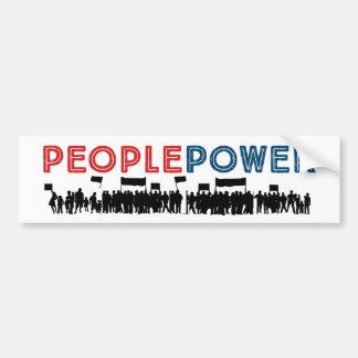 People Power! resistance bumper sticker